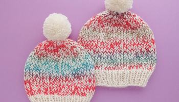 7d016c42168 Speckled Beanie Knitting Pattern