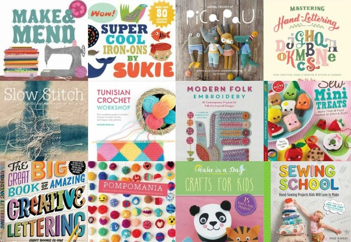 Gift Guide: 14 Creative Book Ideas for Crafty Friends