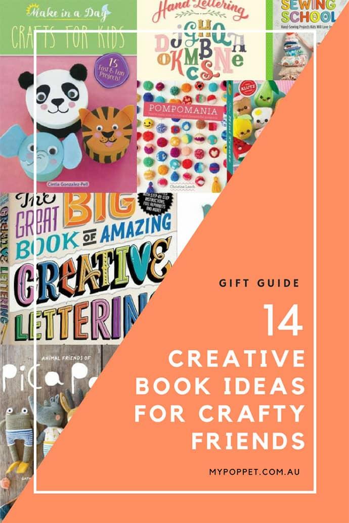 Gift Guide - Craft Books - mypoppet.com.au