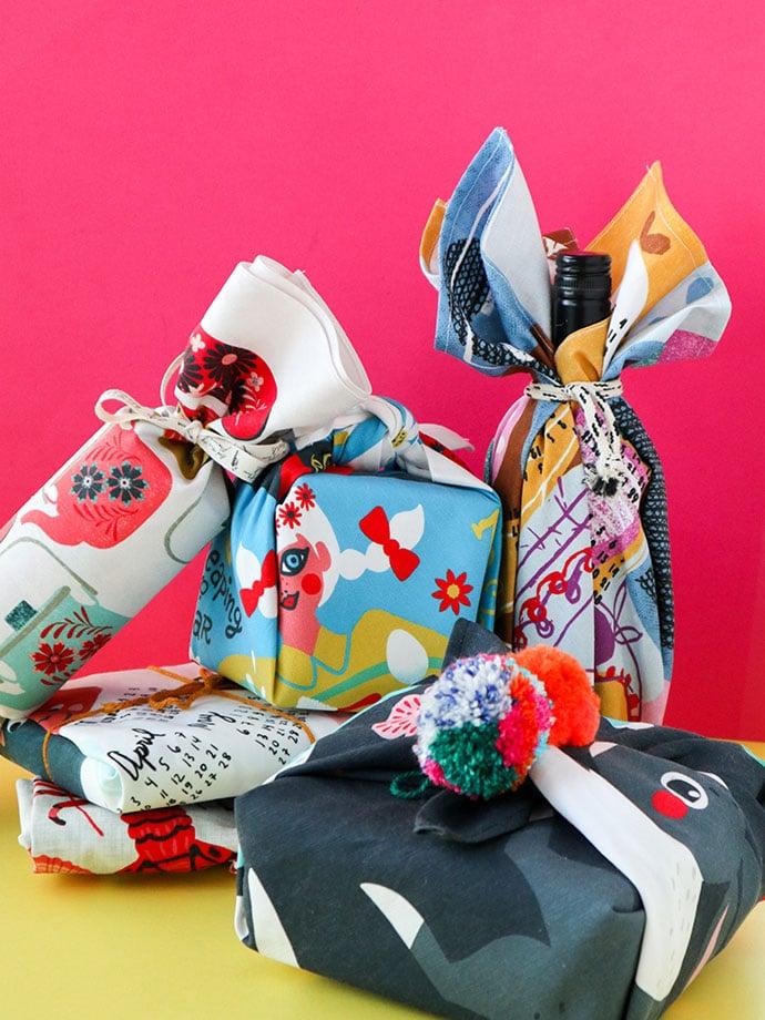 Tea Towel Furoshiki – An Eco Friendly way to Gift Wrap for