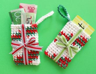 Christmas Ornament Gift Card Holder mypoppet.com.au