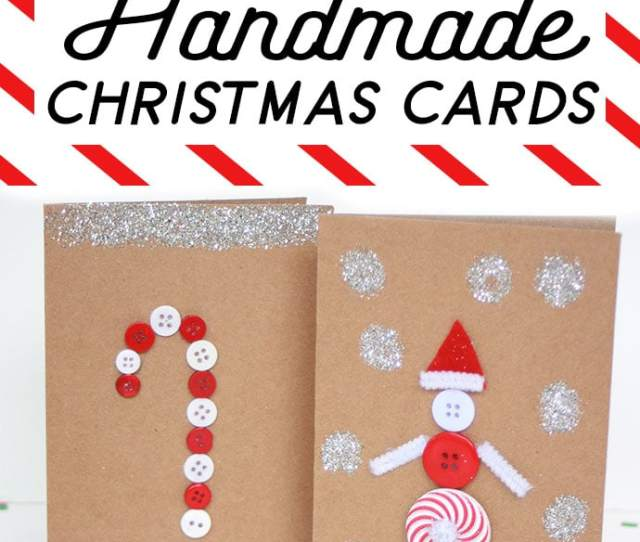 Kids Craft Christmas Cards Mypoppet Com Au