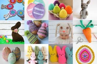 18 Easter Crochet Patterns - Mypoppet.com.au