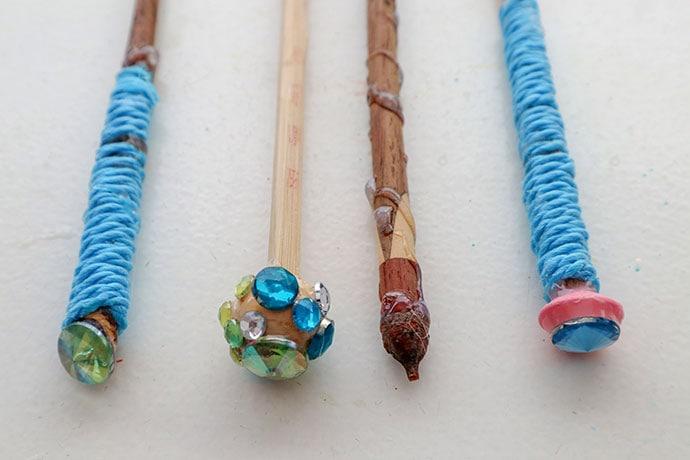 DIY Harry Potter Wizard Wands - mypoppet.com.au