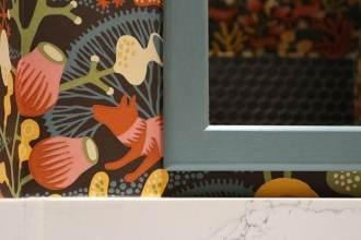 Mirror makover with chalk paint - mypoppet.com.au