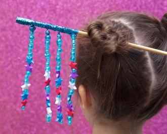 DIY Japanese Chopstick Hair Ornament - mypoppet.com.au