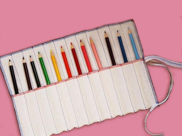 DIY Pencil Roll - mypoppet.com.au