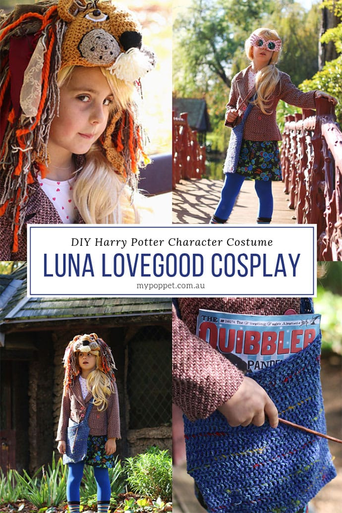 image about Luna Lovegood Glasses Printable referred to as Luna Lovegood Cosplay - The Top Do-it-yourself Dress