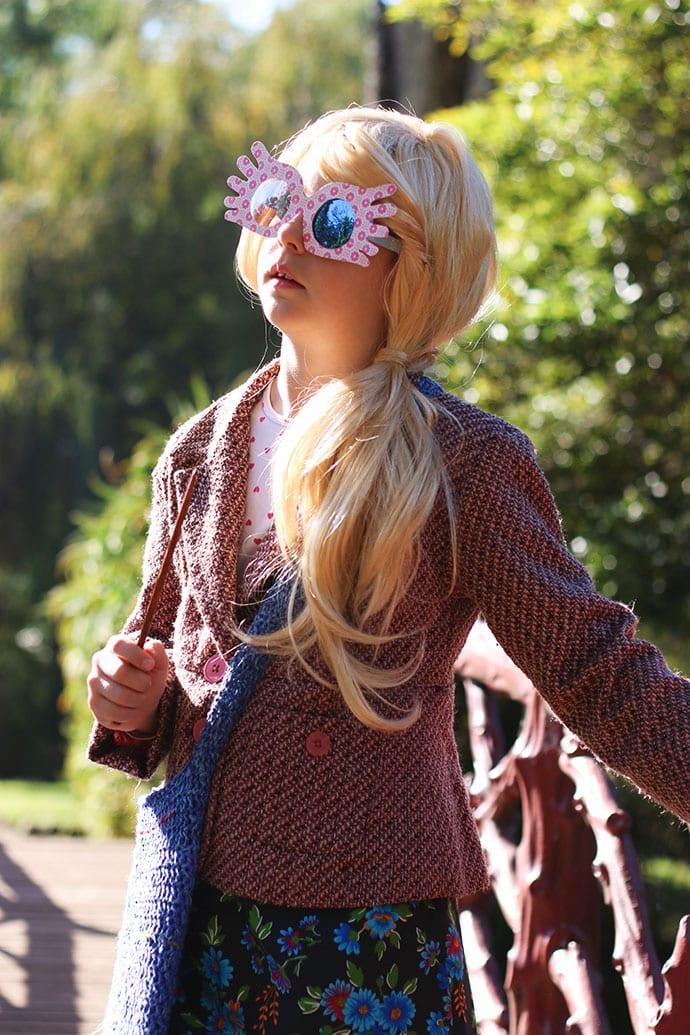 DIY Luna Lovegood costume - mypoppet.com.au
