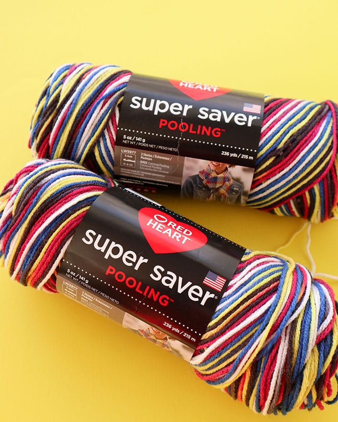 Red Heart Super Saver Pooling review - mypoppet.com.au