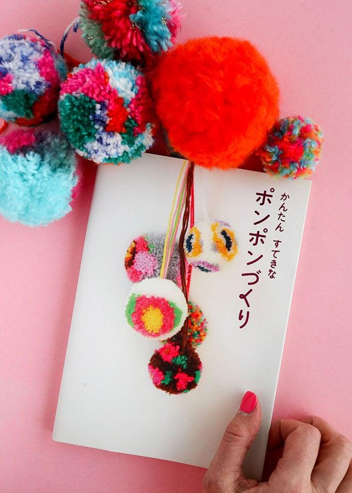 How to make pom poms craft book review - mypoppet.com.au