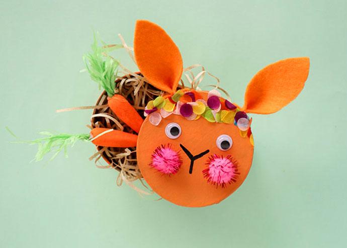 DIY bunny box easter craft - mypoppet.com.au