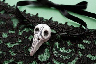 DIY Bellatrix Lestrange Necklace - mypoppet.com.au