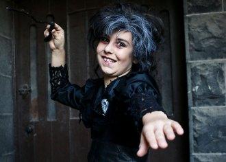 Bellatrix Lestrange halloween costume DIY - mypoppet.com.au
