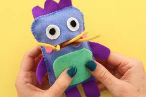 Sew a Softie: Zero-Waste Gobble Monster Doll