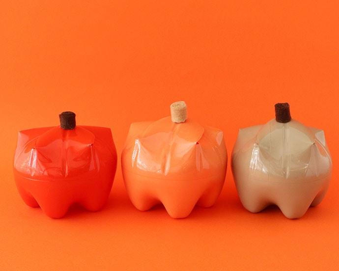 Plastic Bottle Craft – Pumpkin Gift Box
