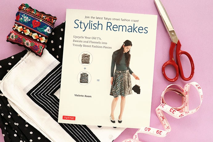 Book Review: Stylish Remakes – 25 Upcycled Clothing Ideas