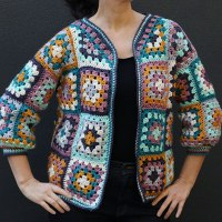 Everyday Granny Square Cardigan Crochet Pattern
