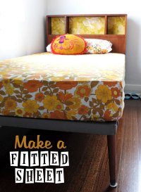 How To: Make a Fitted Sheet | My Poppet Makes