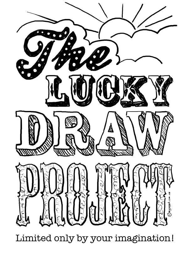 The Lucky Draw Project My Poppet Makes