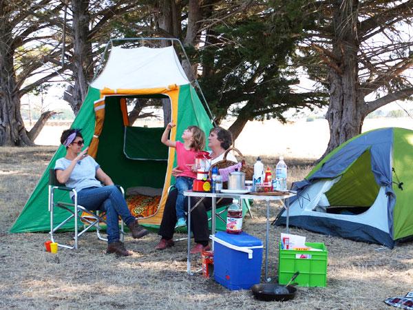gramping camping tent retro