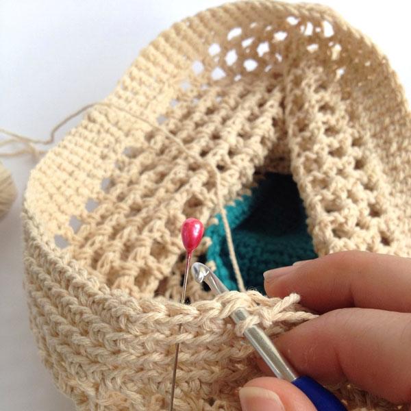 DIY crochet net bag pattern mypoppet.com.au