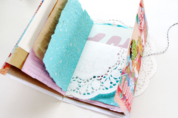 Make a Notebook from Scrap Paper  My Poppet Makes