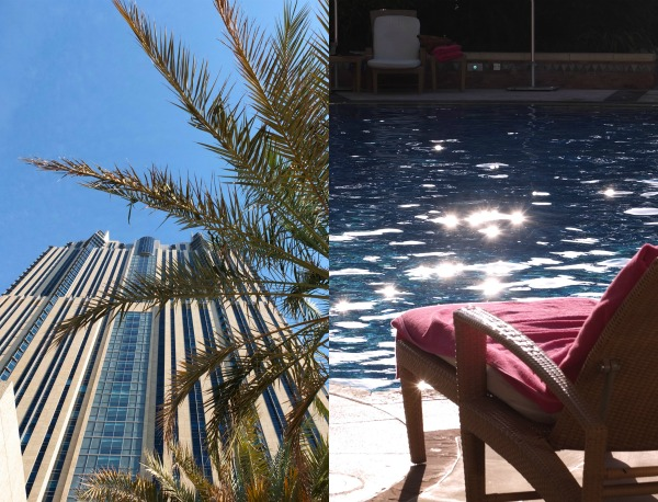 Roof top pool shangri-la hotel Dubai