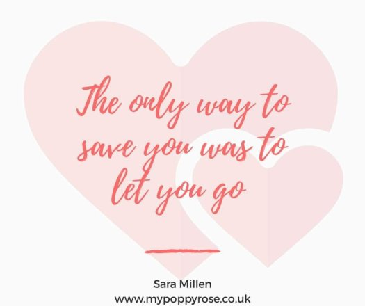 Quote: The only way to save you was to let you go.
