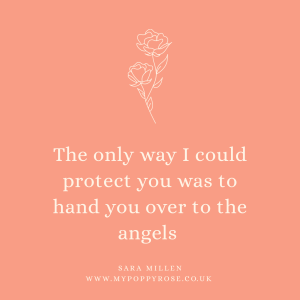 Quote: The only way I could protect you was to hand you over to the angels.