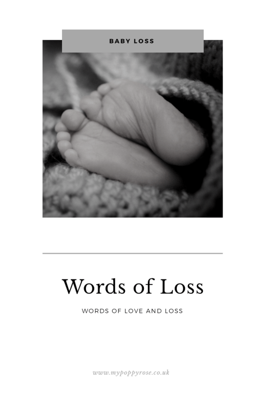 Page title: Words of loss