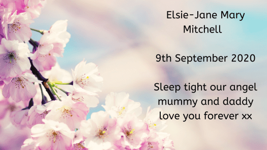 Remembering our babies: Elsie-Jane Mary Mitchell.