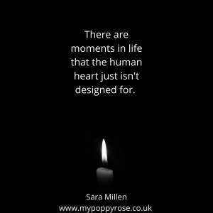Grief Quote: There are moments in life that the human heart just isn't designed for.