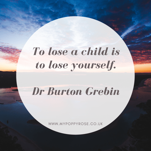 Grief quotes: To lose a child is to lose yourself.