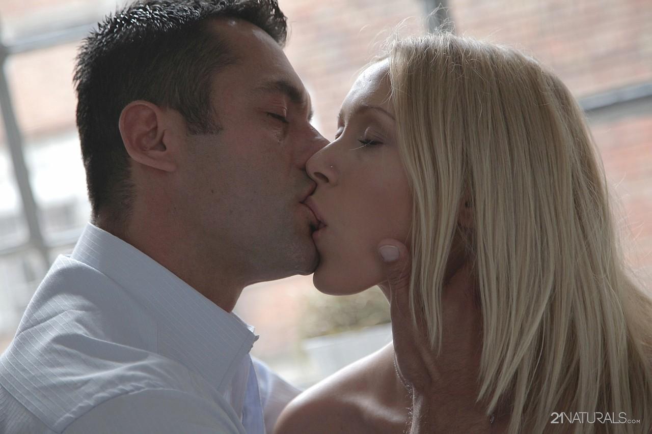 Teena Lipoldino making love with handsome man.