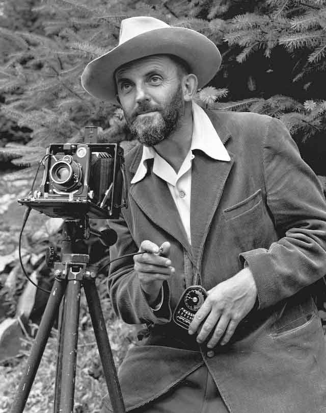 Famous photographers Ansel Adams