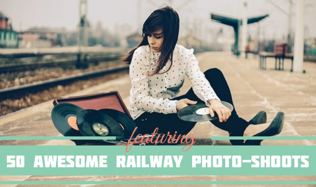 Railway Photo shoot Series featured