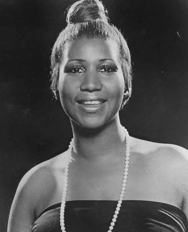 The queen of soul.