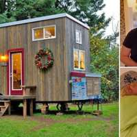 A single mother built this beautiful tiny home after divorce