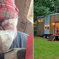 Step inside this gorgeous tiny home a single mom built after losing her house in divorce