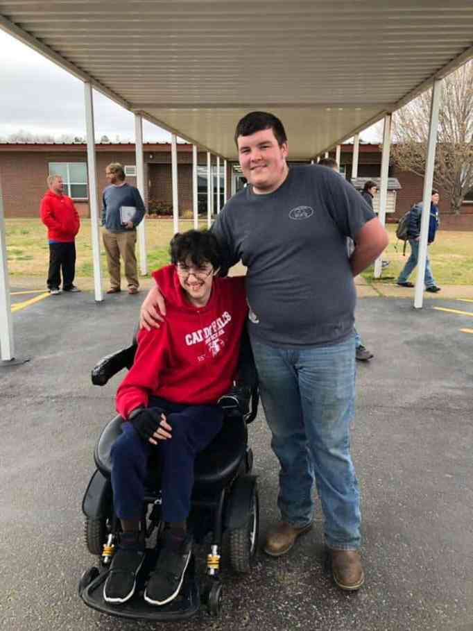 High school student saves for over 2 years to buy his friend a new electric wheelchair