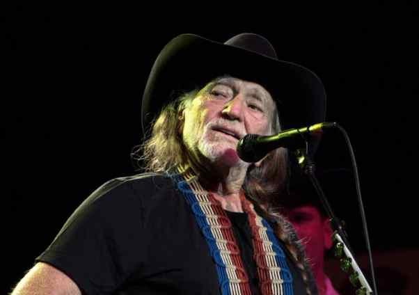 The legendary country singer Willie Nelson.