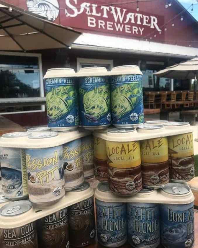 Saltwater Brewery beers