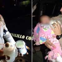 Officers Pull Over Dad, Feed the 3 Kids Found Inside the Car