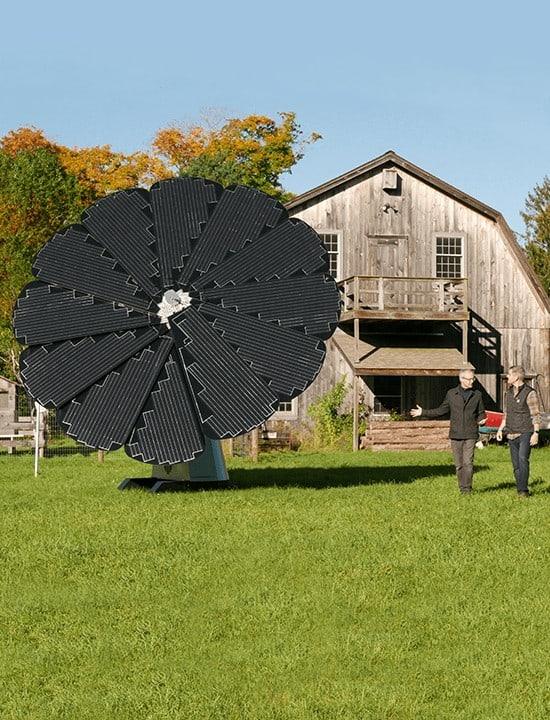 SmartFlower solar panels for homes