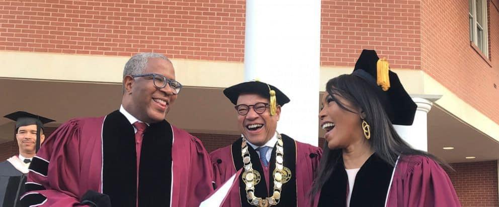 Jubilant graduating class.