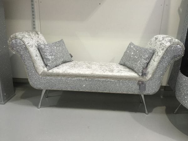 silver glitter furniture