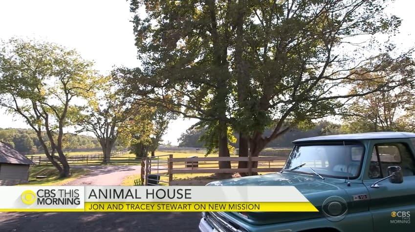 Jon Stewart's farm