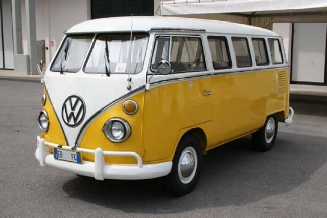 The original Volkswagen microbus.