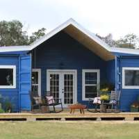 Take a look at some of the cost-effective farmhouses made of shipping containers